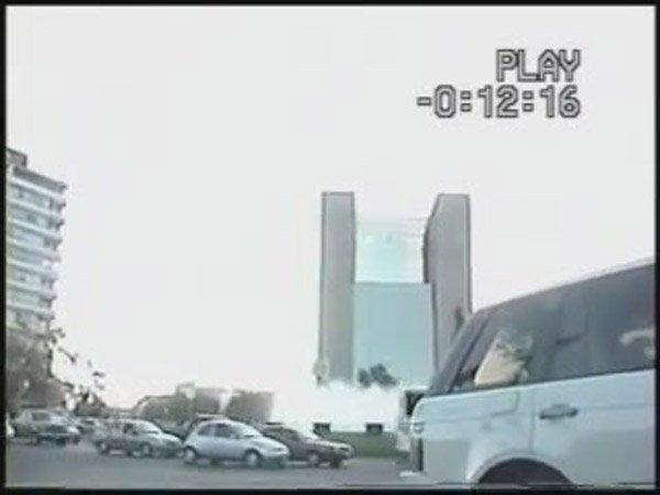 Инопланетянин на крыше